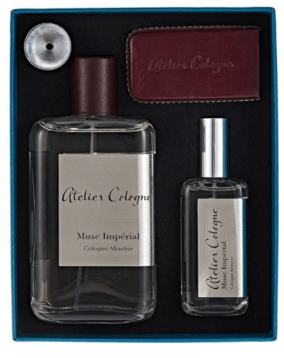 Atelier Cologne Perfumes Atelier Cologne Musc Imperial Absolue 100 Ml+30 Ml+Leather Case Trv Set
