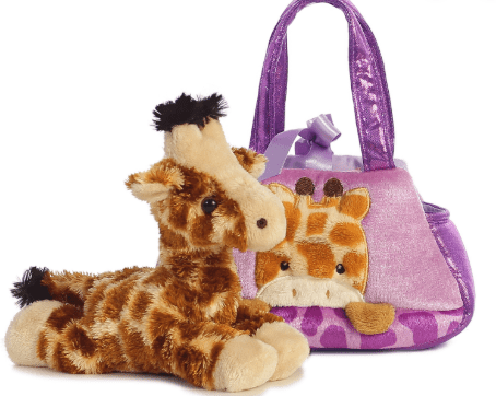Aurora Toy Fancy Pal Peek-a-Boo Giraffe