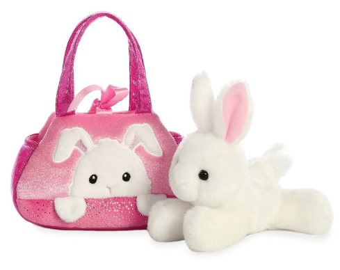 Aurora Toy Fancy Pal Rabbit Peek-a-Boo