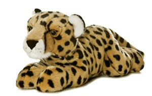Aurora Toy Flopsie - Cheetah 12In