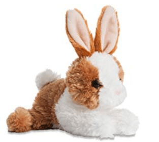 Aurora Toy Mini Flopsie - Bunny Brown/White8Intoy