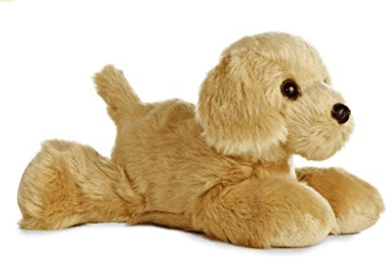 Aurora Toy Mini Flopsie - Golden Retriever 8In
