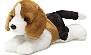 Aurora Toy Mini Flopsie - Homer Beagle 8In