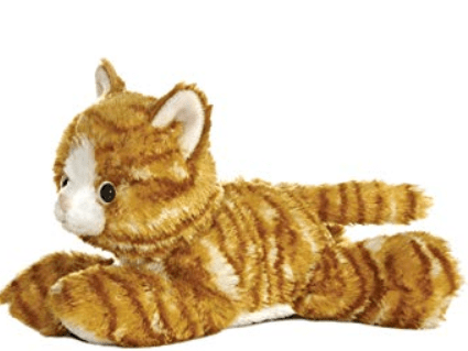 Aurora Toy Mini Flopsie - Molly Cat 8In