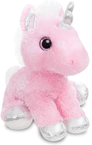 Aurora Toy Sparkle Tales Blossom Unicorn 12In (Pink)