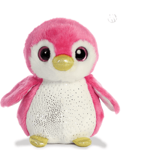 Aurora Toy Sparkle Tales Isla Pink Penguin 7In