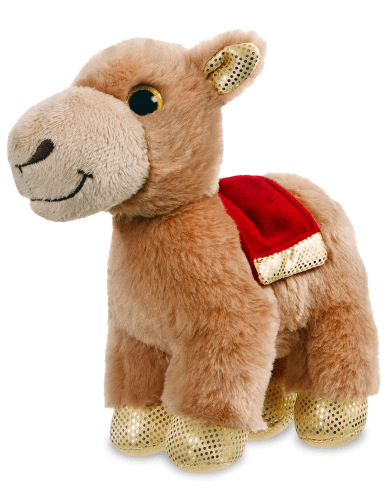 Aurora Toy Sparkle Tales Sandstorm Camel 7In