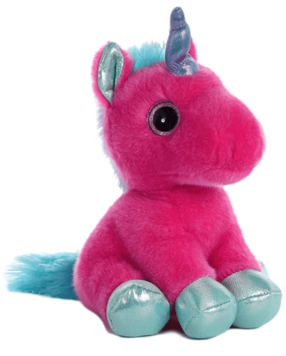 Aurora Toy Sparkle Tales Starlight Hot Pink Unicorn 7In
