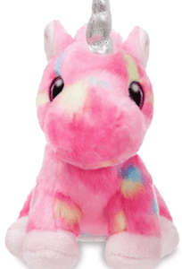 Aurora Toy Sparkle Tales Unicorn Rainbow 7In Pink