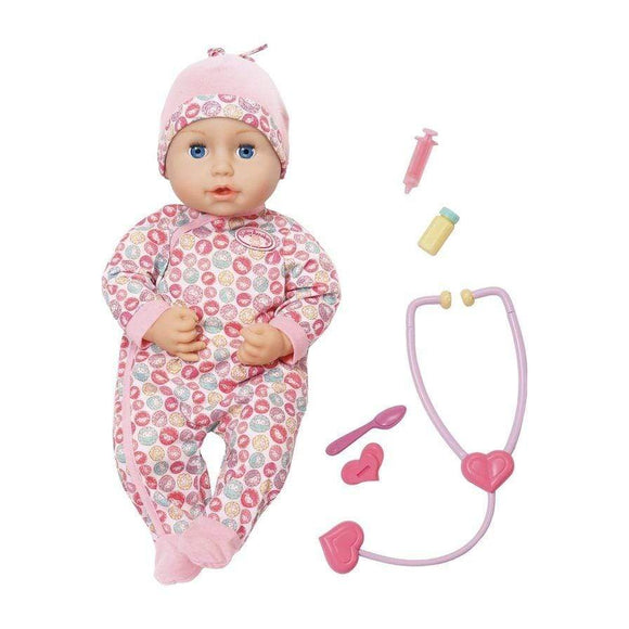 Baby Annabell toys Milly Feels Better Doll Set (43 cm)