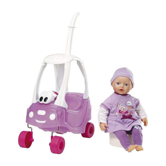 Baby Born toys My Little Baby in Cozy Coupe