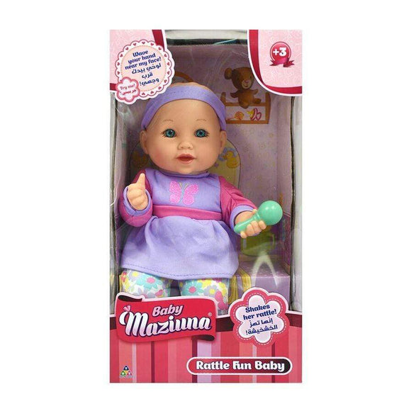 Baby Mazuina toys Fun with Keys Baby Doll (30 cm)