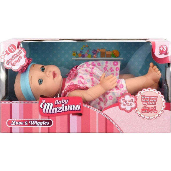 Baby Mazuina toys Love & Wiggles Baby Doll (30 cm)
