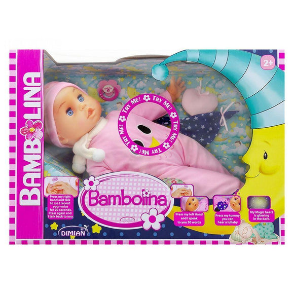 Bambolina toys Bambolina Goodnight Doll (42 cm)