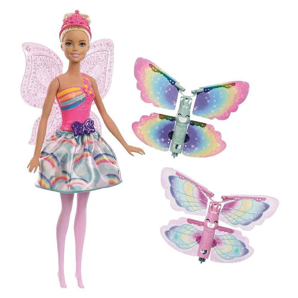 Barbie Toys Barbie - Dreamtopia Flying Wings Fairy Doll