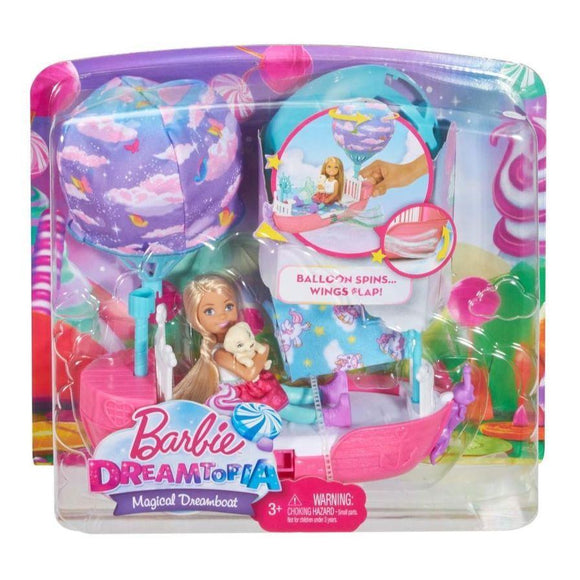 Barbie toys Barbie Dreamtopia Magical Dreamboat