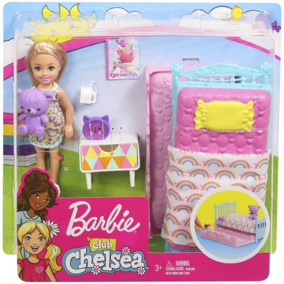 Barbie Toys Barbie - Family Chelsea Pet - Bed Room Accessory