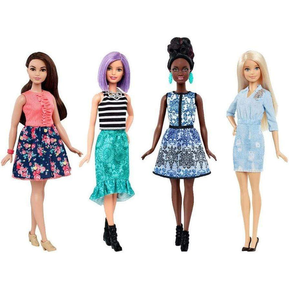 Barbie toys Barbie Fashionistas (Pack of 4)