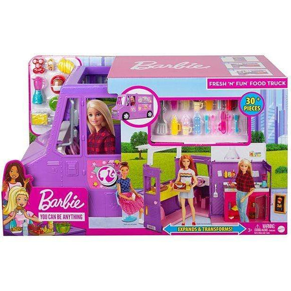 Barbie Toys BARBIE FOOD TRUCK (WITH DOLL)