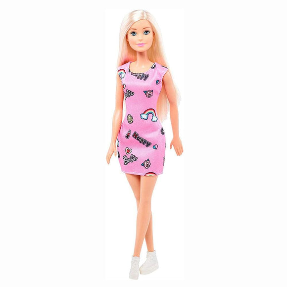 Barbie Toys Barbie - Happy Barbie Doll Pink