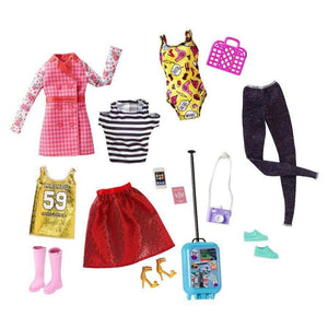 Barbie toys Barbie Pink Passport Fashion Set