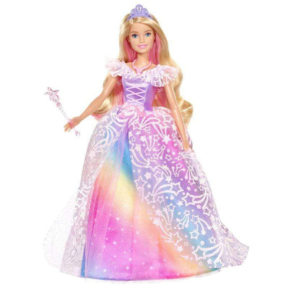 Barbie Toys Barbie - Rainbow Cove Dreamtopia Royal Ball Princess Doll