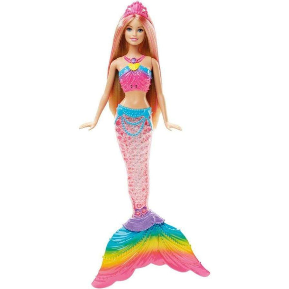 Barbie toys Barbie Rainbow Lights Mermaid Doll