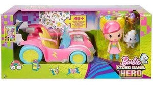 Barbie toys Barbie Video Game Hero Vehicle Playset