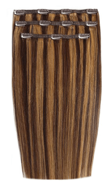 Beauty Works Beauty Blondettee 4/27 Beauty Works Deluxe Clip-In Hair Extensions 18 Inch (Various Shades)