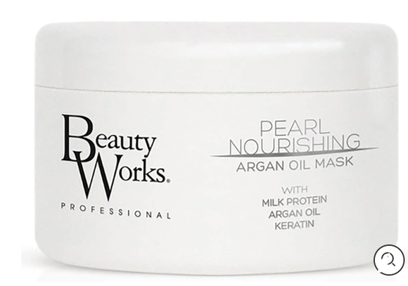 Beauty Works Beauty Beauty Works Pearl Nourishing Argan Oil Mask