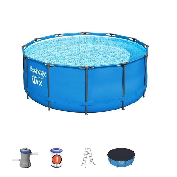 Bestway Ground Pool Bestway Steel Pro Max 3.66m x 1.22m Pool Set