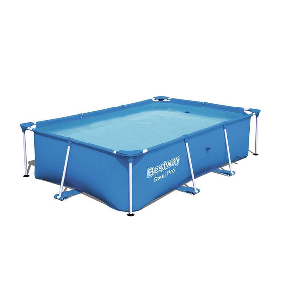 Bestway Ground Pool Bestway Steel Pro Pool 2.59m x 1.70m x 61cm (8'6″ x 67″ x 24″)