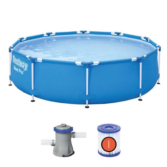 Bestway Ground Pool Bestway Steel Pro Pool Set 3.05m x 76cm (10′ x 30″)