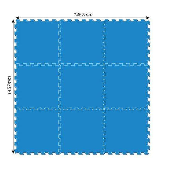 Bestway Outdoor Pool Protector Evafoam 500 x 500 x 4mm 9Pc 2.25Sqm