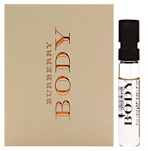 Burberry Perfumes Burberry Body (W) Edt 2 Ml Vails