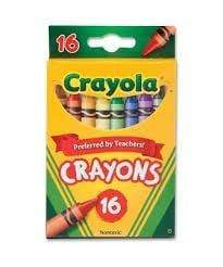 Crayola School 16 ct. Crayons - Peggable