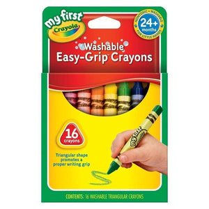Crayola School 16 ct. Triangular Crayons