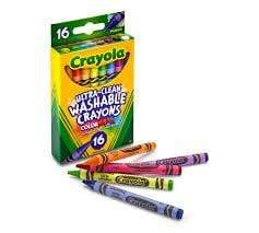 Crayola School 16 ct. Ultra-Clean Washable Crayons - Regular Size
