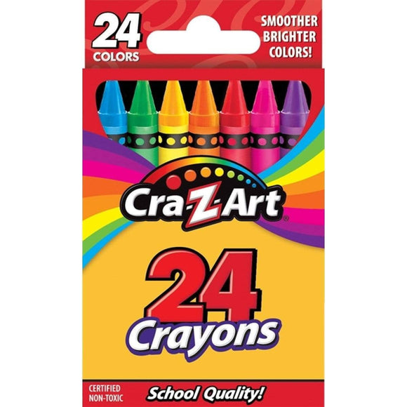 Crayola School 24 ct. Crayons - Peggable