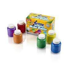 Crayola School 6CT WASHABLE METALLIC PAINT