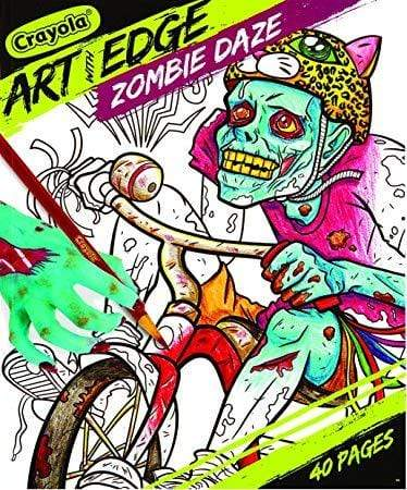Crayola School Art with Edge, Zombie Daze Book