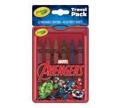 Crayola School Avengers Travel Pack