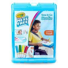 Crayola School Color Wonder Stow & Go Studio™