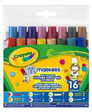 Crayola School Crayola 16 MINI WASHABLE MARKERS
