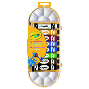Crayola School Crayola 8 TEMPERA PAINTS