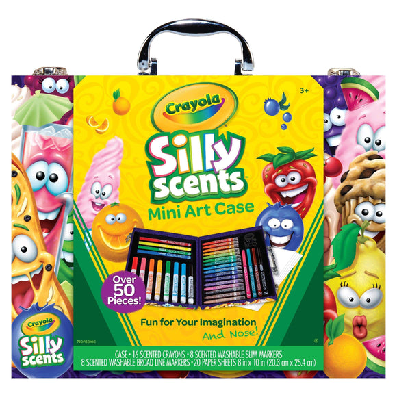 Crayola School Crayola Mini Inspiration Art Case, Silly Scents