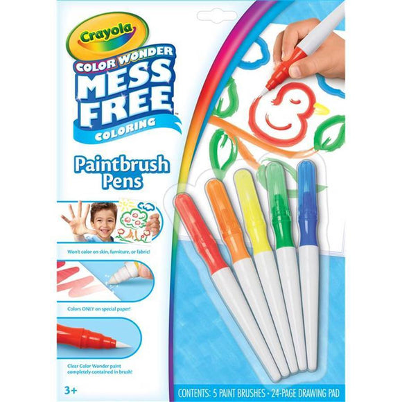 Crayola School CW Paintbrush Pens