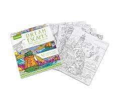 Crayola School Dream Escapes Coloring Books
