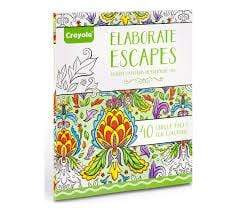 Crayola School Elaborate Escapes Coloring Books