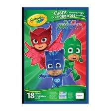 Crayola School Giant Coloring Pages, PJ Masks